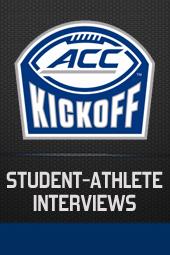 ACC KICKOFF: STUDENT-ATHLETE INTERVIEWS