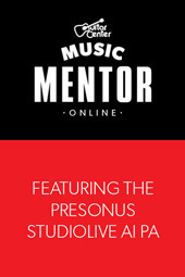 Guitar Center Music Mentor with StudioLive AI PA