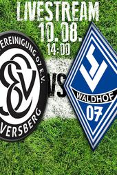 SV Elversberg - SV Waldhof