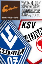 SV Waldhof - KSV Baunatal
