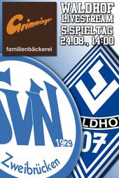 SVN Zweibrücken - SV Waldhof