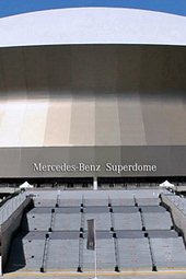 Tom Benson Press Conference at Mercedes-Benz Superdome