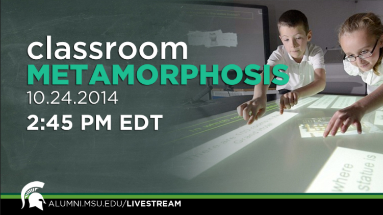 livestream cover image for Classroom Metamorphosis