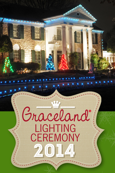 graceland christmas lighting ceremony on livestream