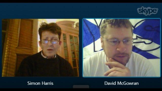Skype Conversation with Simon Harris