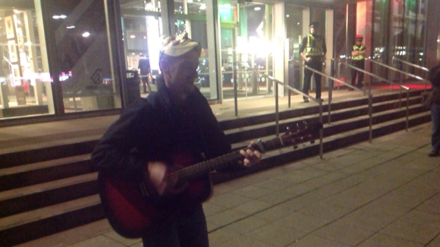 Anonymous - #OpOccupyBBC Glasgow 4PM