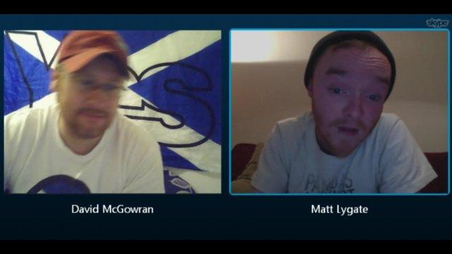Conversation with Matt Lygate