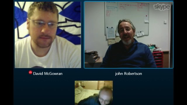 Skype Conversation with Professor John Robertson
