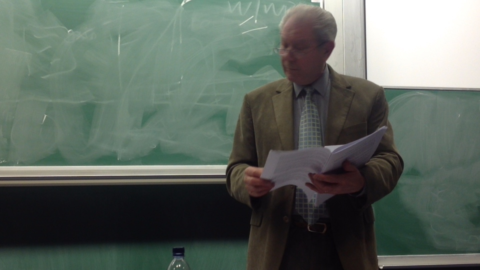 Jim Sillars discusses Scotland in the EU