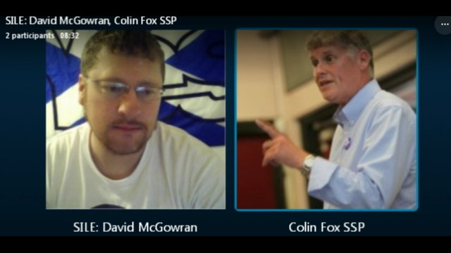 Colin Fox SSP live update from Athens, Greece