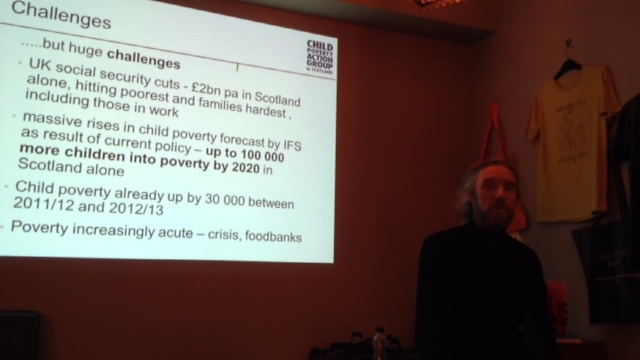 Child Poverty Action Group in Scotland with John Dickie