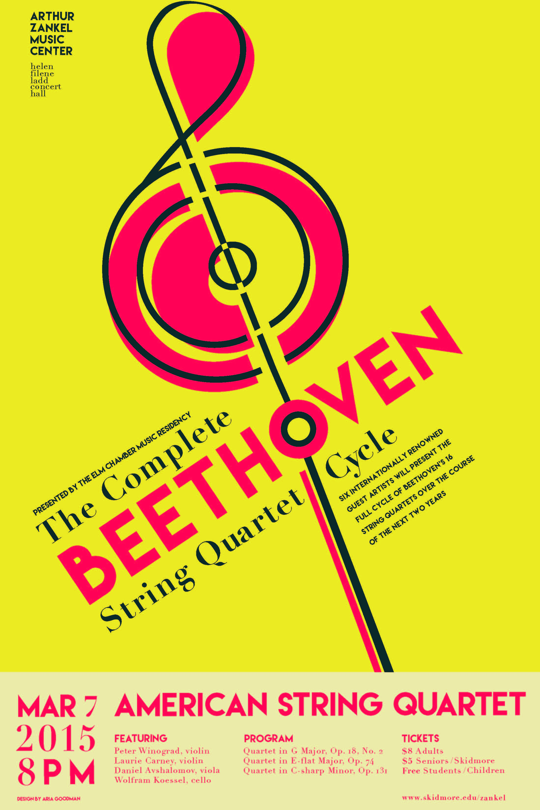 3/7/15 American String Quartet on Livestream