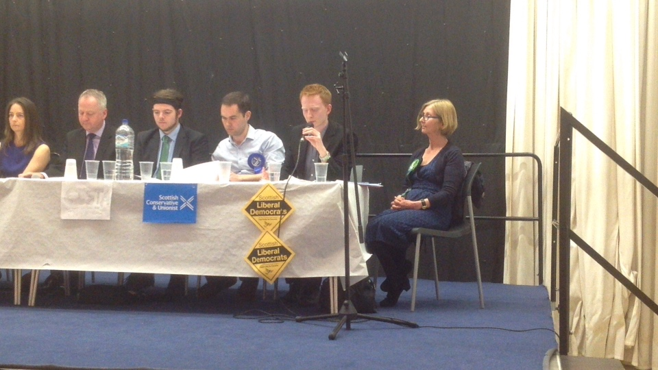 Drumchapel Hustings, Big Debate