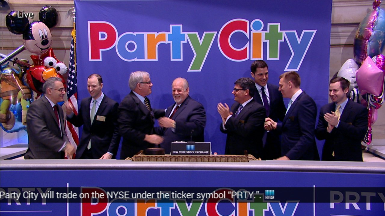 Party City Rings The Nyse Opening Bell On Livestream