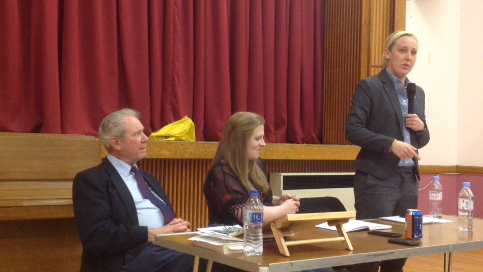 Jim Sillars discussing Mhairi Black & more...