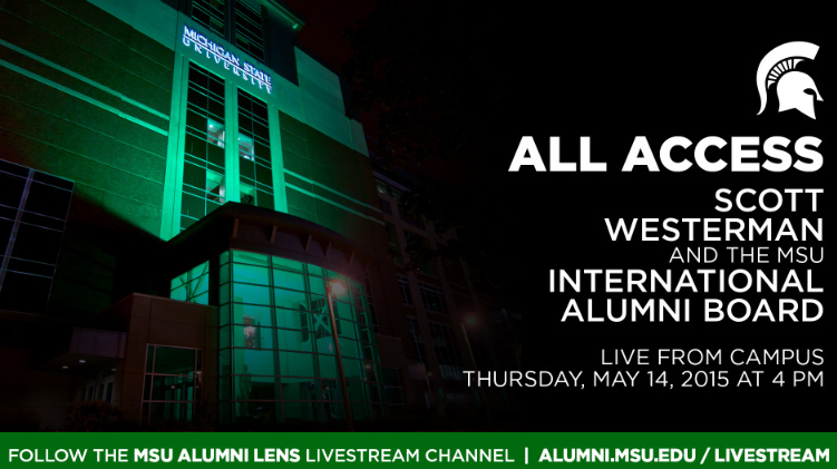 livestream cover image for All Access - Scott Westerman and the MSU Alumni Board