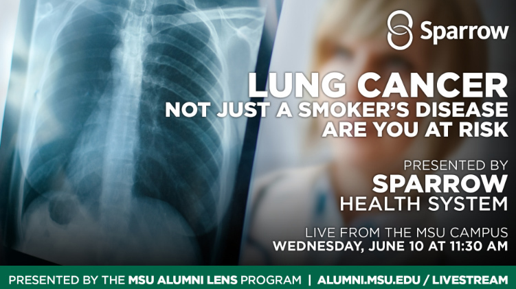 livestream cover image for Sparrow | Lung Cancer