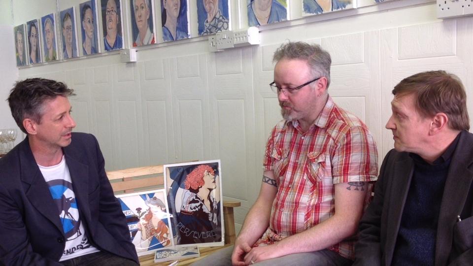 Stewart Bremner Book Signing Interview