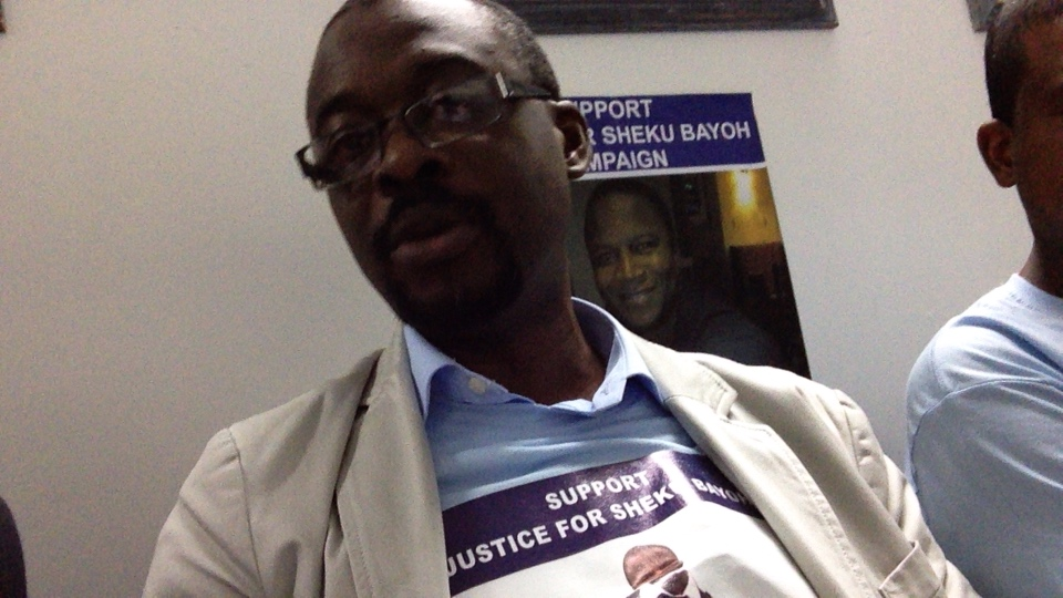 Glasgow: Support Justice for Sheku Bayoh