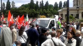 End Austerity - Paris Demo