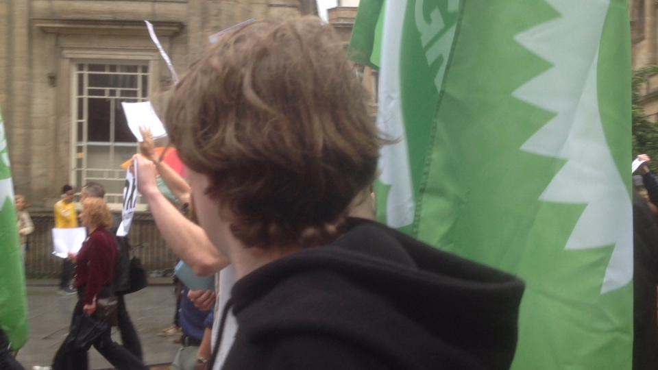 RIC: GLASGOW STANDS WITH GREECE: DEMOCRACY vs AUSTERITY