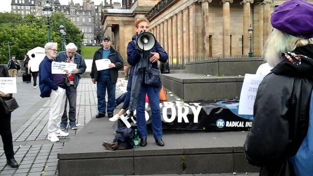 'OXI' to Osborne - Edinburgh No Cuts Protest