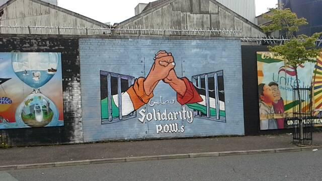 Murals in West Belfast