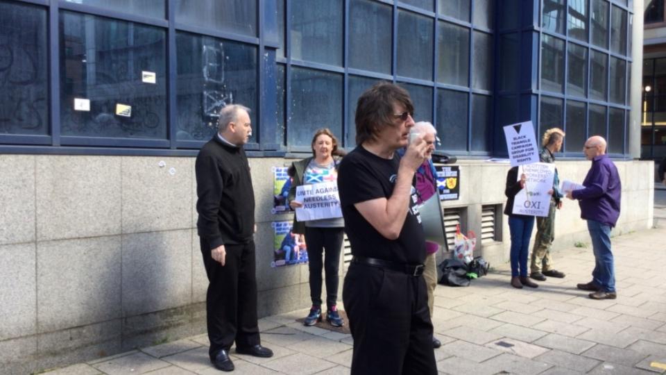 Protest Against ATOS MAXIMUS