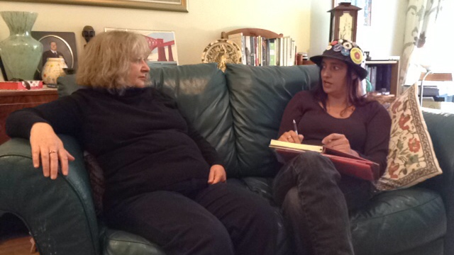 On the Sofa With Trishy Trish Anti-Fracking Activist