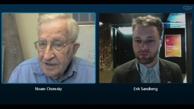 Noam Chomsky interview, Sep 2015