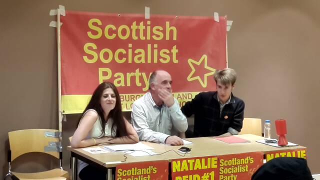 Natalie Reid (SSP) public meeting