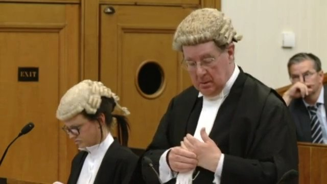 Alistair Carmichael court hearing