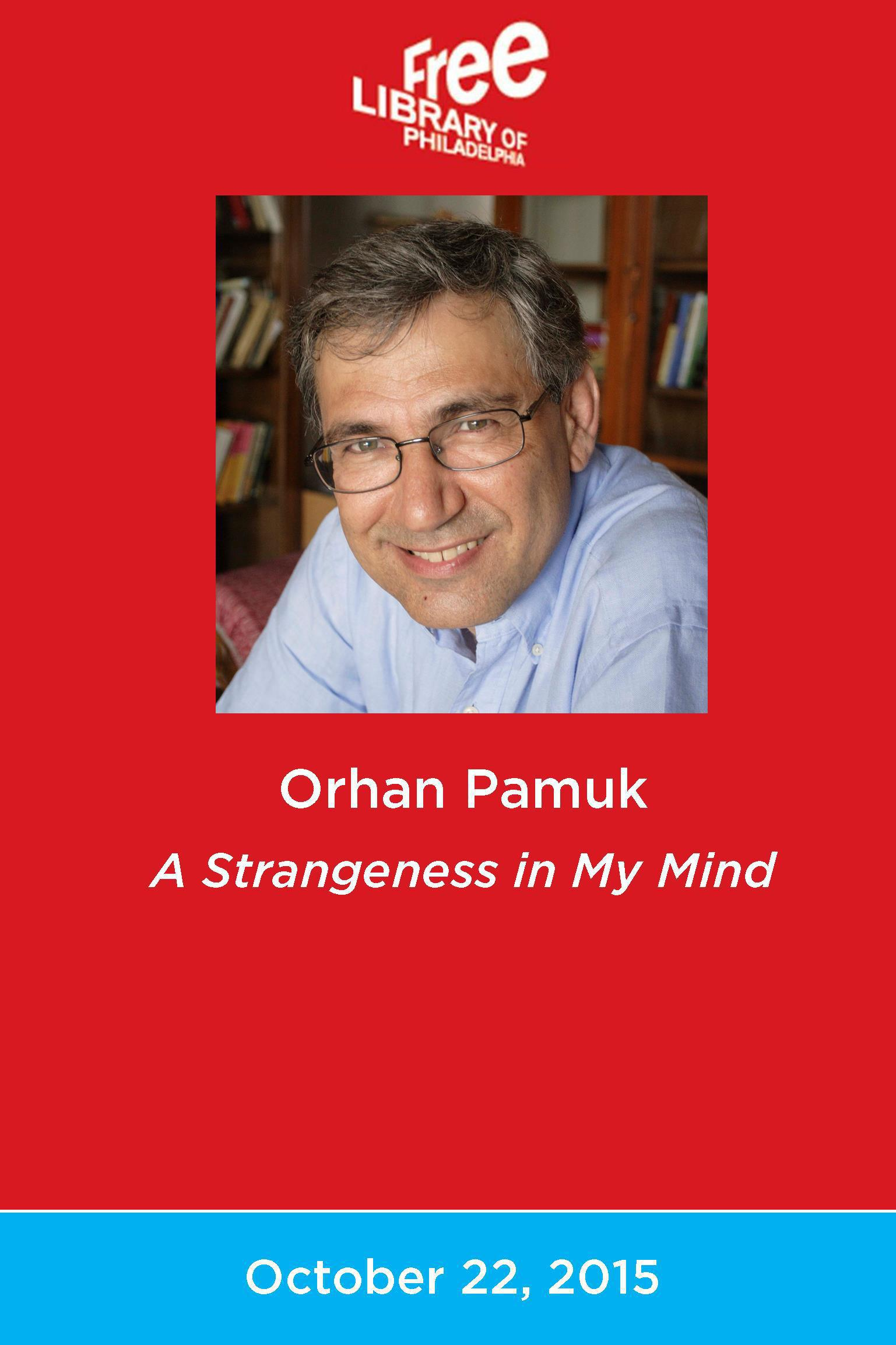 orhan pamuk essays Orhan pamuk's the museum of innocence is like an arabesk song,  essays  about turkish literature and criticism often seem obsessed with.