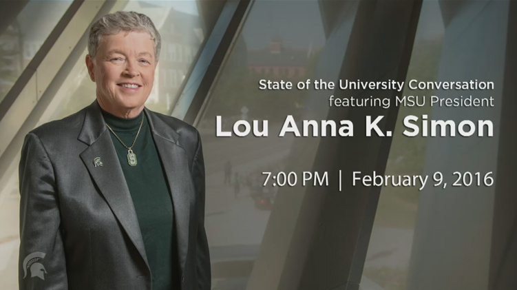 livestream cover image for State of the University Conversation with President Simon