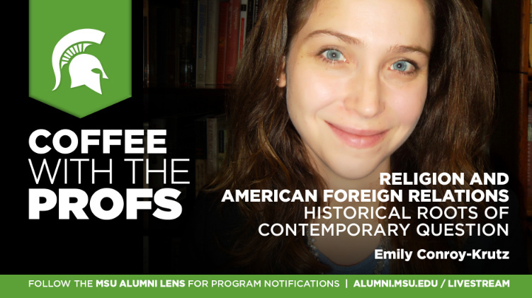 livestream cover image for Emily Conroy-Krutz | Religion and American Foreign Relations: Historical Roots of Contemporary Question