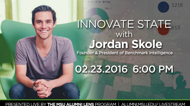livestream cover image for Jordan Skole | Innovate State