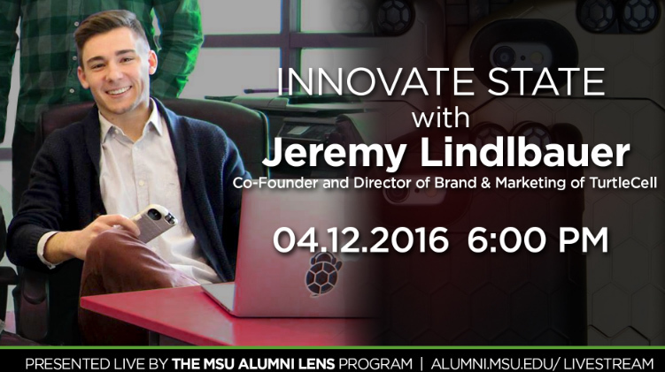 livestream cover image for Jeremy Lindlbauer | Innovate State