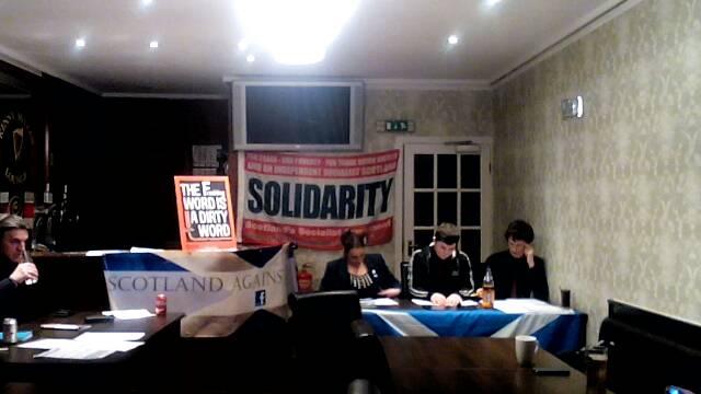 Solidarity Lothian's Fracking Event