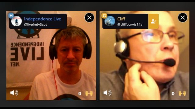 Veterans for Independence interview on Blab.im