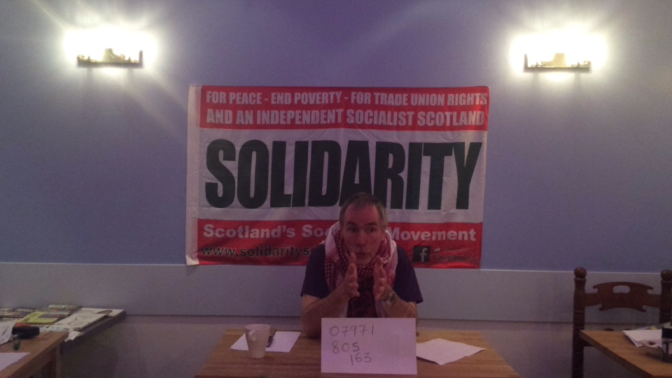 Solidarity SSM Broadcast Bill Mair