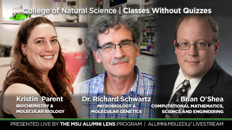 livestream cover image for Classes Without Quizzes | Kristin Parent, Dr. Richard Schwartz, & Brian O'Shea