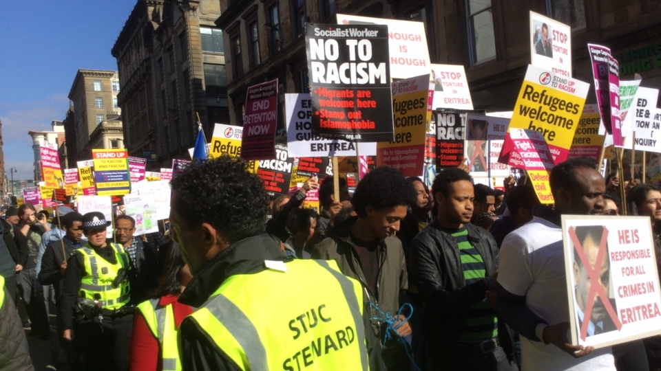 Stand up to Racisim