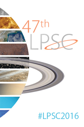 2016 Lunar & Planetary Science Conference