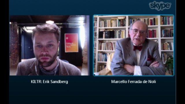 Professor Marcello Ferradade Noli interview