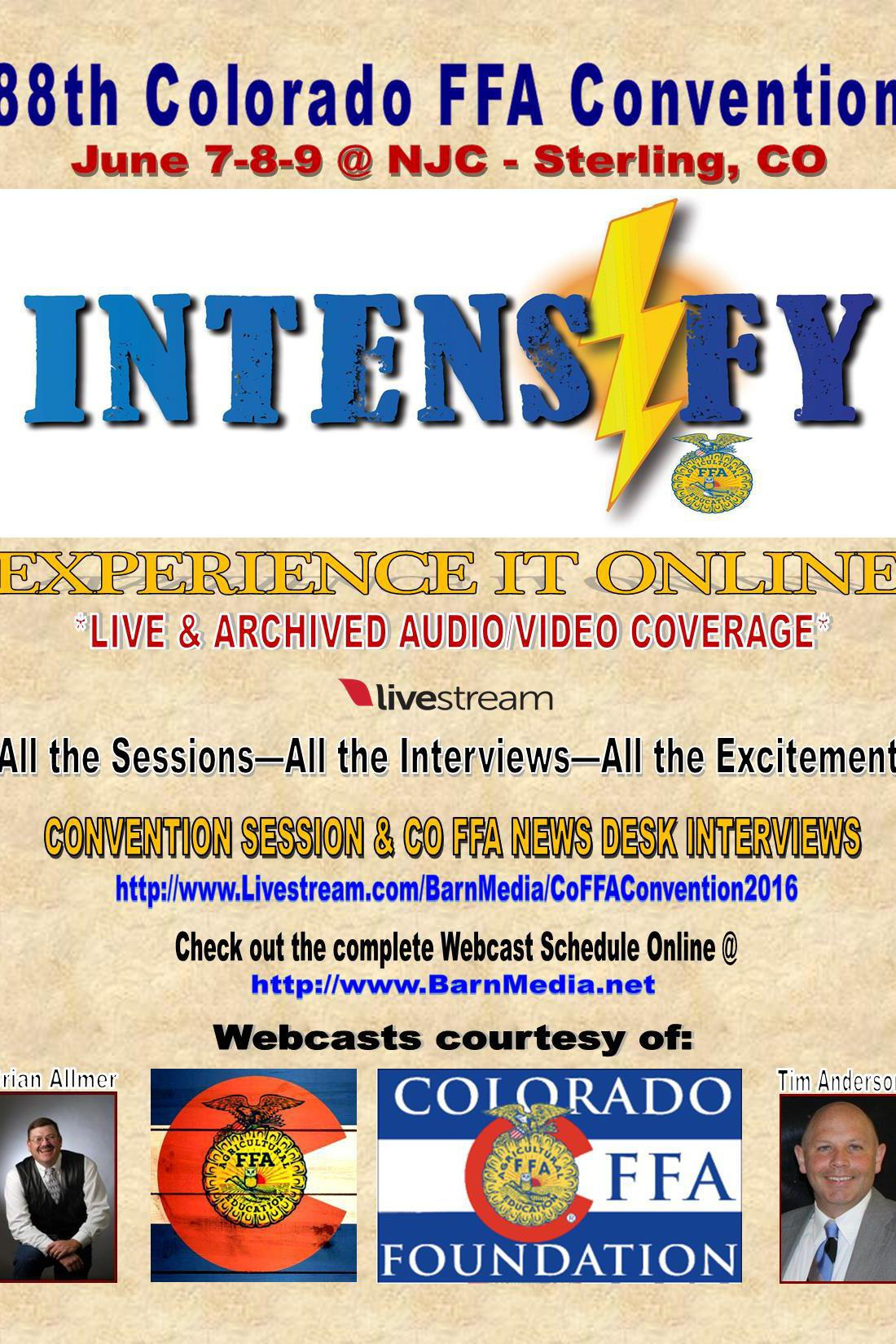 2016 co ffa state convention on livestream