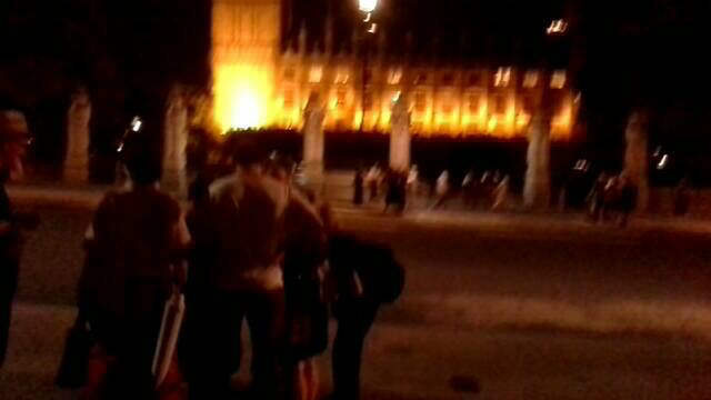 Westminster Trident vote demo