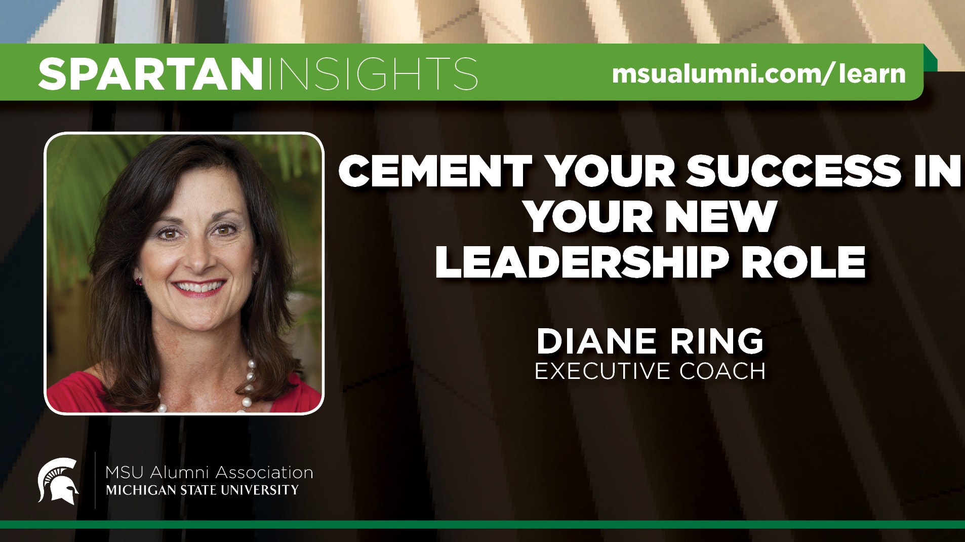 livestream cover image for Diane Ring | Cement Your Success In Your New Leadership Role