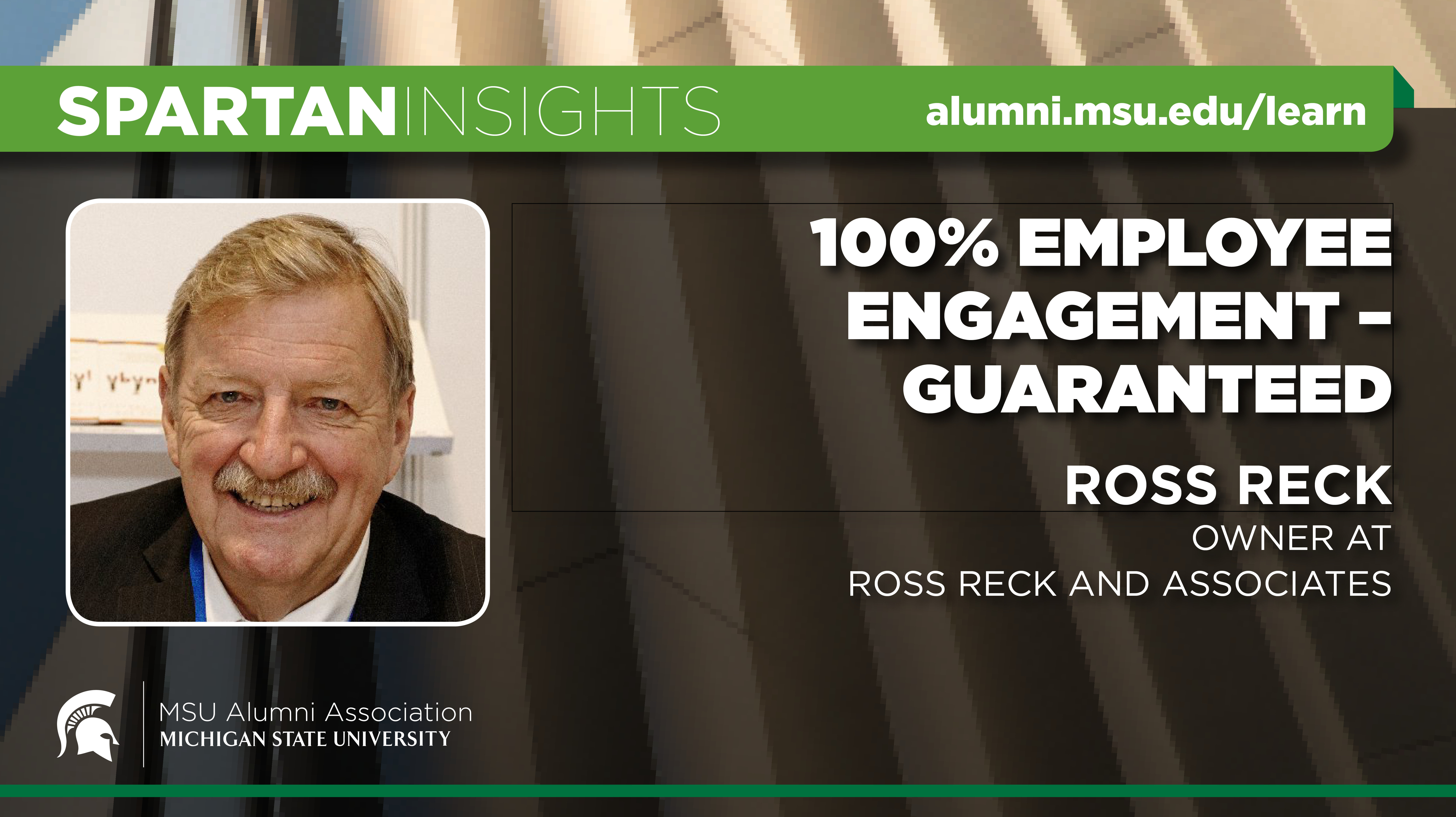 webinar cover image for Ross Reck | 100% Employee Engagement - Guaranteed