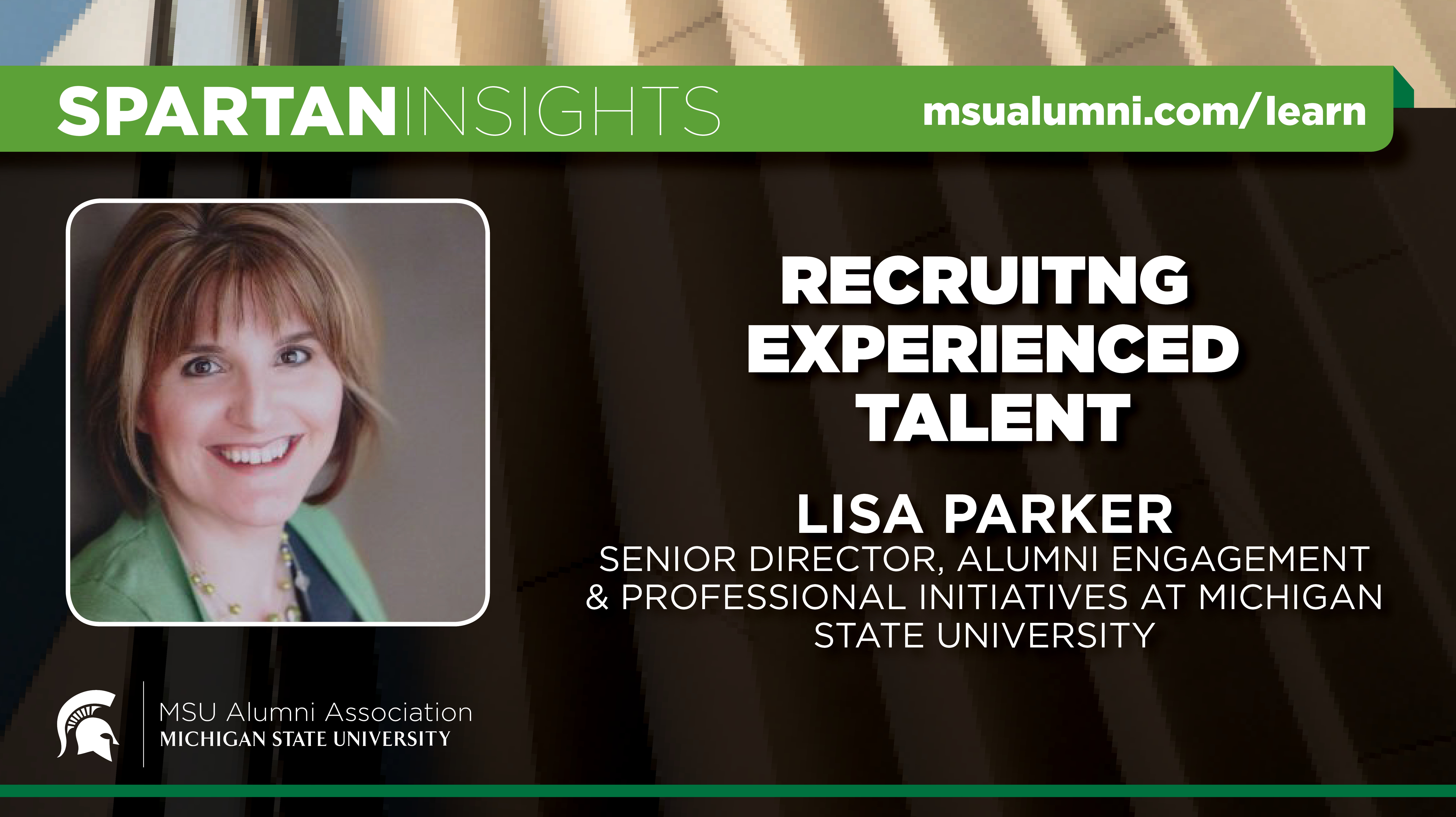 webinar cover image for Lisa Parker | Recruiting Experienced Talent