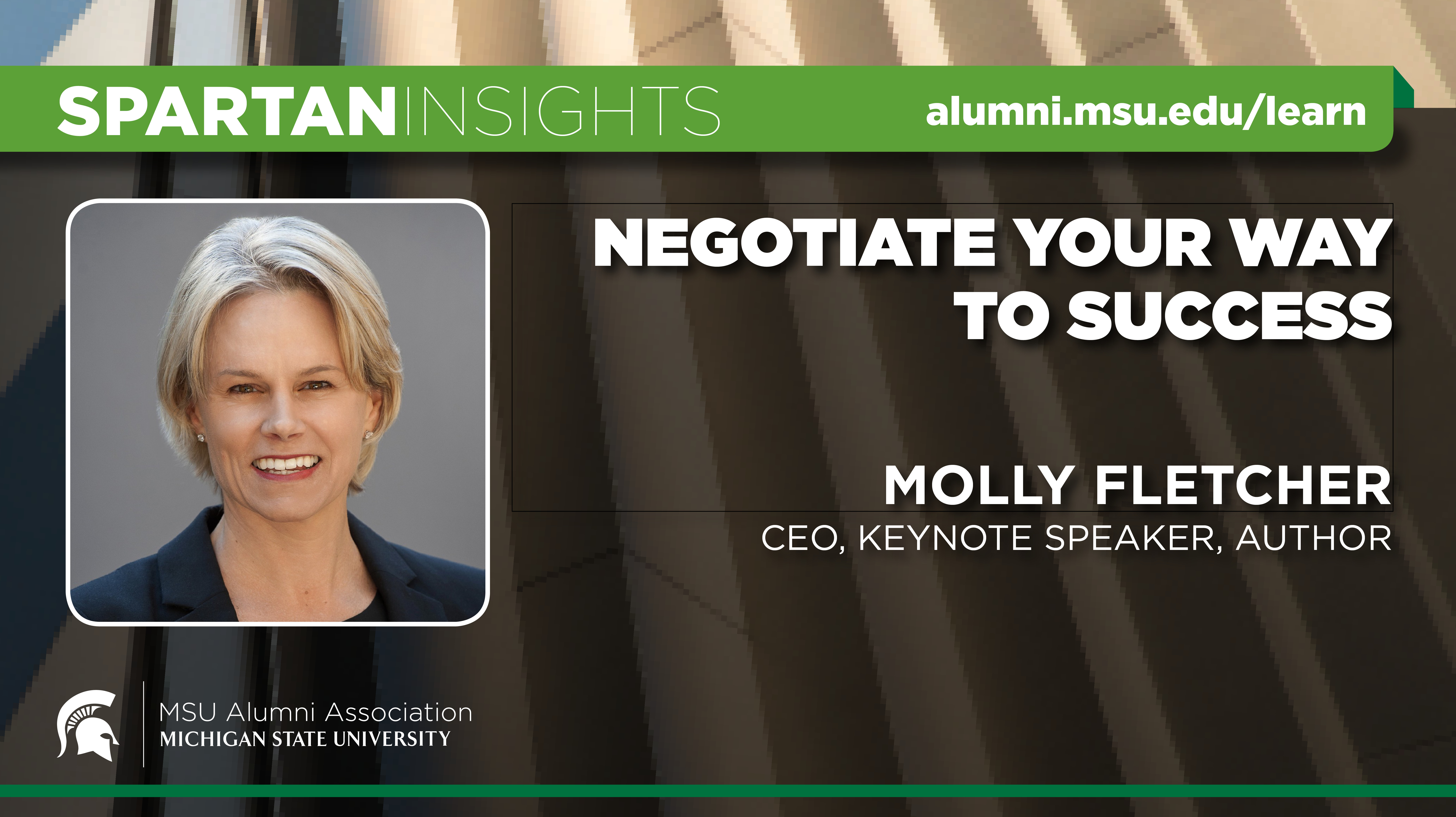 webinar cover image for Molly Fletcher | Negotiate Your Way To Success